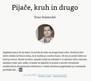 pijace, kruh in drugo
